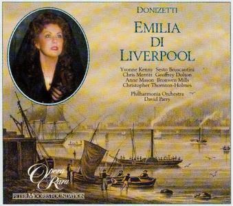 David Parry, Philharmonia Orchestra - Donizetti - Emilia di Liverpool, L'Eremitaggio di Liwerpool [1987]