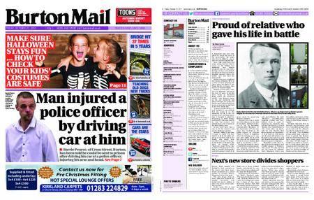 Burton Mail – October 27, 2017