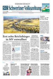 Schweriner Volkszeitung Hagenower Kreisblatt - 26. Oktober 2018
