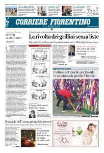 Corriere Fiorentino La Toscana - 13 Maggio 2018