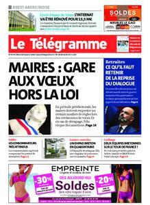Le Télégramme Brest Abers Iroise – 08 janvier 2020