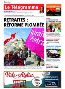 Le Télégramme Auray – 18 octobre 2019