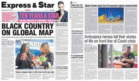 Express and Star Sandwell Edition – July 11, 2020