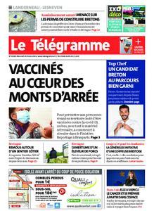 Le Télégramme Landerneau - Lesneven – 24 février 2021
