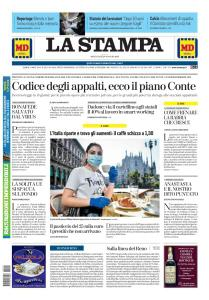 La Stampa Torino Provincia e Canavese - 20 Maggio 2020