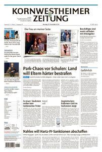 Kornwestheimer Zeitung - 19. November 2018