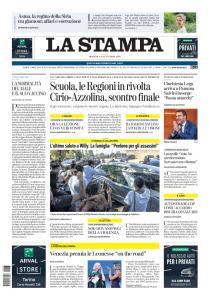 La Stampa Torino Provincia e Canavese - 13 Settembre 2020