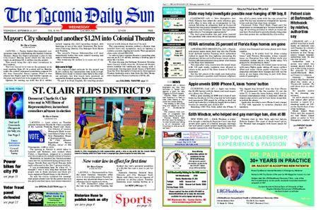 The Laconia Daily Sun – September 13, 2017