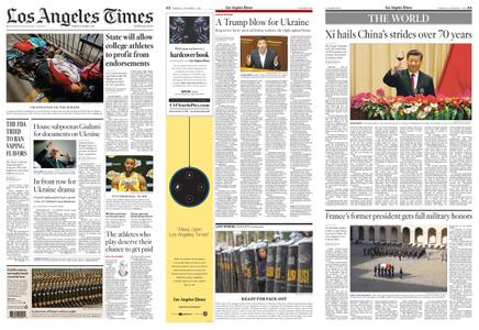 Los Angeles Times – October 01, 2019