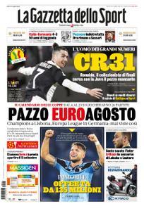 La Gazzetta dello Sport – 16 giugno 2020