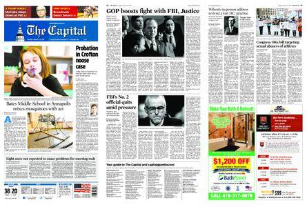 The Capital – January 30, 2018
