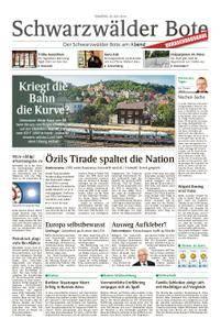 Schwarzwälder Bote Oberndorf - 24. Juli 2018