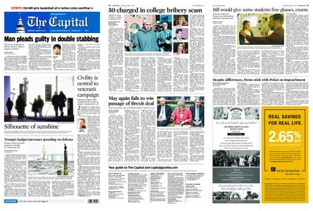 The Capital – March 13, 2019
