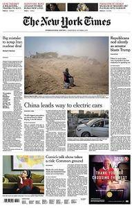 International New York Times - October 11, 2017