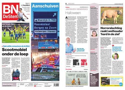 BN DeStem - Bergen op Zoom – 31 oktober 2018