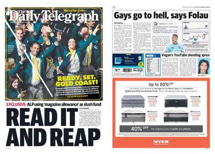 The Daily Telegraph (Sydney) – April 05, 2018