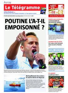 Le Télégramme Auray – 30 juillet 2019