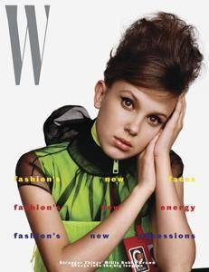 W Magazine - August 2018