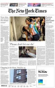 International New York Times - 13 April 2020