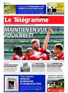 Le Télégramme Brest Abers Iroise – 25 avril 2021