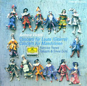 Vivaldi - Yepes - Lute Concertos (1972, 1990, Deutsche Grammophon # 429 528-2) [RE-UP]