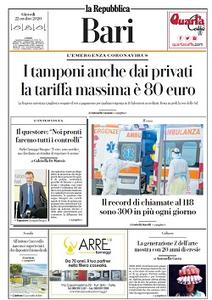 la Repubblica Bari - 22 Ottobre 2020