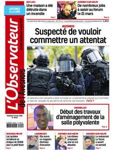 L'Observateur de l'Avesnois - 15 mars 2019