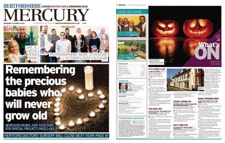 Hertfordshire Mercury – October 24, 2019