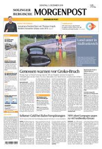 Solinger Morgenpost – 03. Dezember 2019