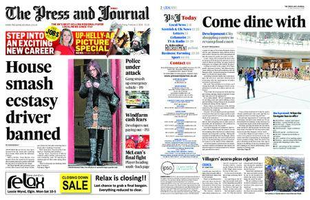 The Press and Journal Moray – February 02, 2018
