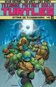 New Releases Teenage Mutant Ninja Turtles v11 - Attack On Technodrome 2015 Digital Raphael-Empire cbr