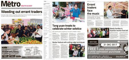 The Star Malaysia - Metro South & East – 27 December 2017