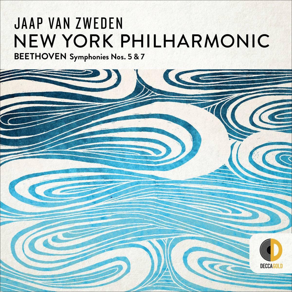 New York Philharmonic & Jaap van Zweden - Beethoven: Symphonies Nos. 5 & 7 (2018) [Official Digital Download 24/96]