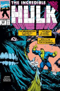 Incredible Hulk 384 1991a