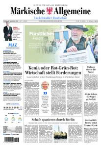 Märkische Allgemeine Luckenwalder Rundschau - 16. September 2019