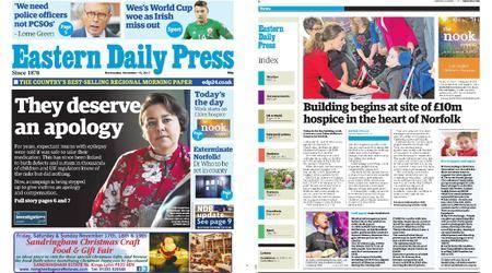 Eastern Daily Press – November 15, 2017