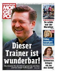 Hamburger Morgenpost - 30. April 2018