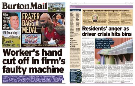 Burton Mail – August 02, 2021