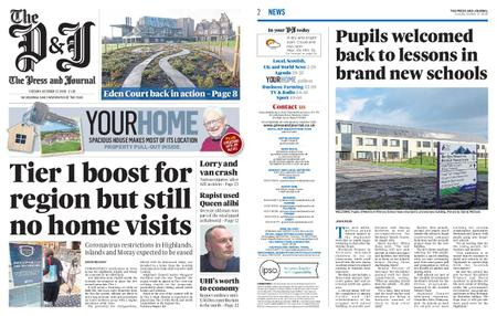 The Press and Journal Moray – October 27, 2020