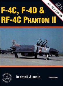 F-4C, F-4D & RF-4C Phantom II (Detail & Scale 43)