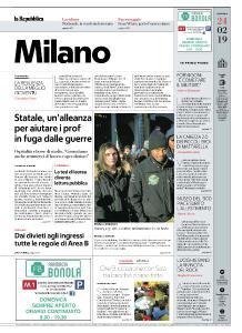 la Repubblica Milano - 24 Febbraio 2019