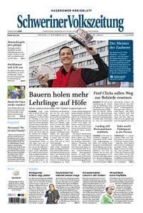 Schweriner Volkszeitung Hagenower Kreisblatt - 17. November 2017