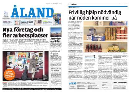 Ålandstidningen – 28 december 2019