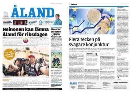 Ålandstidningen – 11 april 2018
