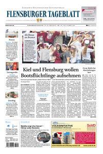 Flensburger Tageblatt - 15. Juni 2019