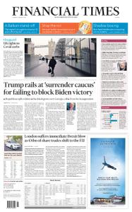 Financial Times Europe - January 5, 2021