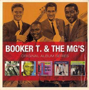 Booker T. & The MG'S - Original Album Series (2012) {5CD Box Set}