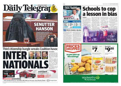 The Daily Telegraph (Sydney) – August 18, 2017