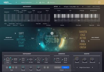 UJAM Virtual Drummer SOLID v2.0.0.2504 WiN