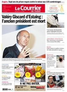 Le Courrier de l'Ouest Cholet – 03 décembre 2020